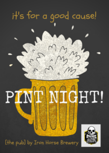 Pint Night @ [the pub] by Iron Horse Brewery